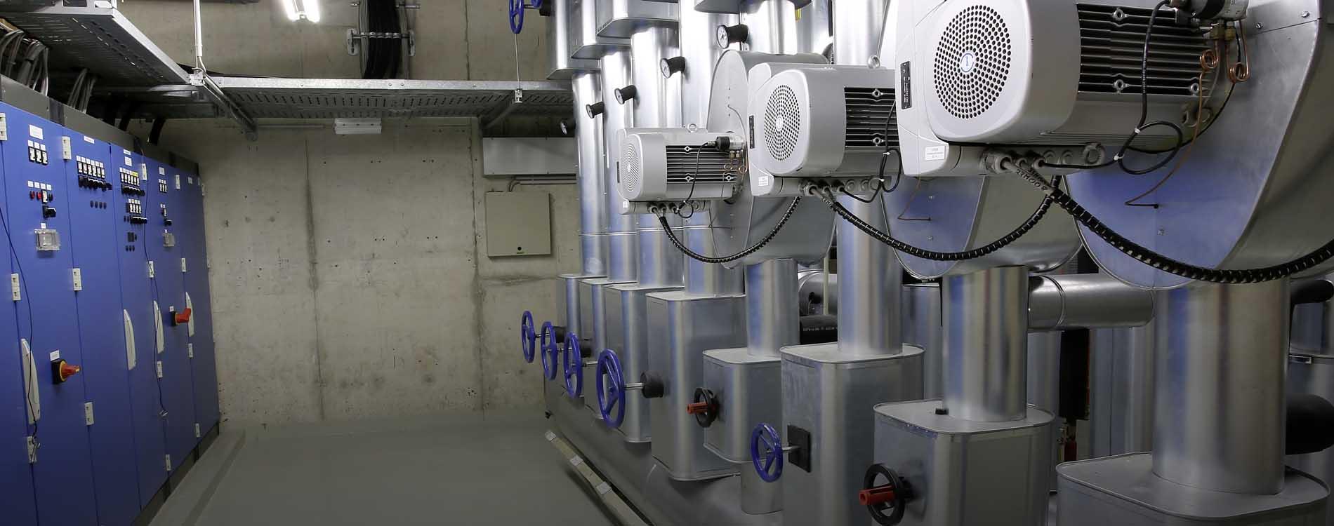 Erneuerung der MSR-Regeltechnik und des Kaltwassersatzes im RWE Verwaltungsgebäude in Siegen