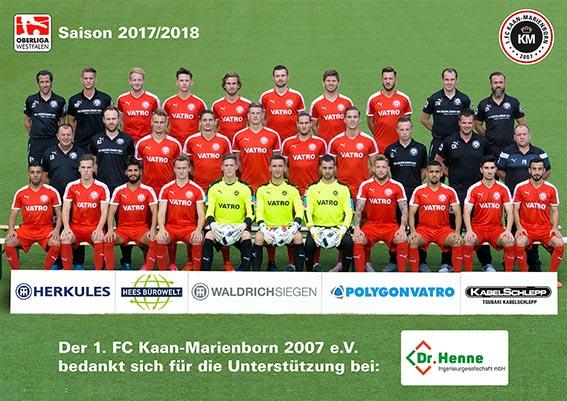 Sponsor Und Partner Des 1 Fc Kaan Marienborn Ev Dr Ing Henne
